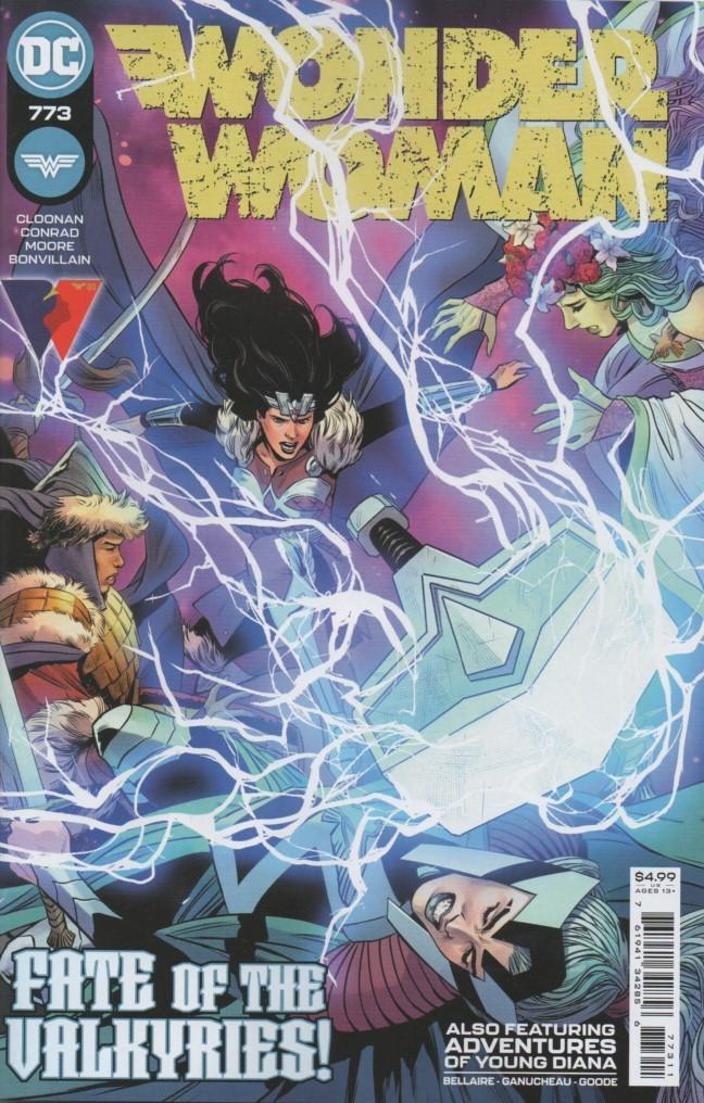 Couverture de Wonder Woman Vol.1 (DC Comics - 1942) -773- Afterworlds - Part 4