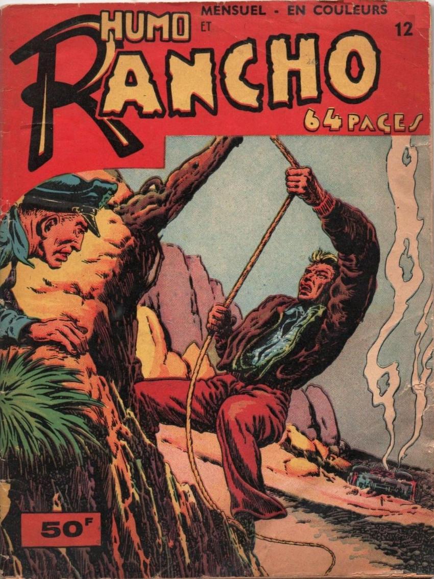 Couverture de Rancho (S.E.R) -12- Humo et Rancho - L'Affaire du Nestor