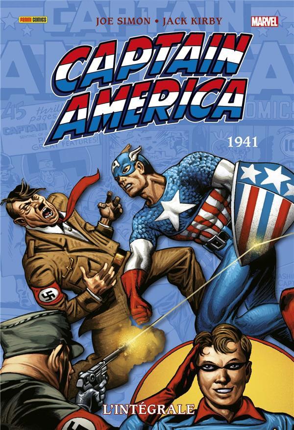 Couverture de Captain America (L'intégrale) -HS1- L'intégrale 1941