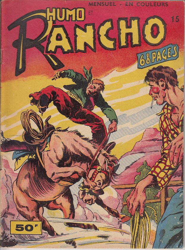 Couverture de Rancho (S.E.R) -15- Humo et Rancho -  Ramon L'Aquila ...