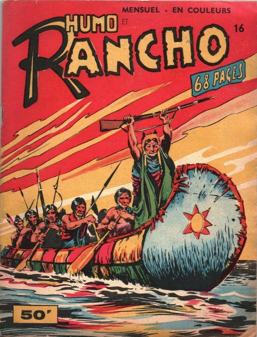 Couverture de Rancho (S.E.R) -16- Humo et Rancho - Agent Secret