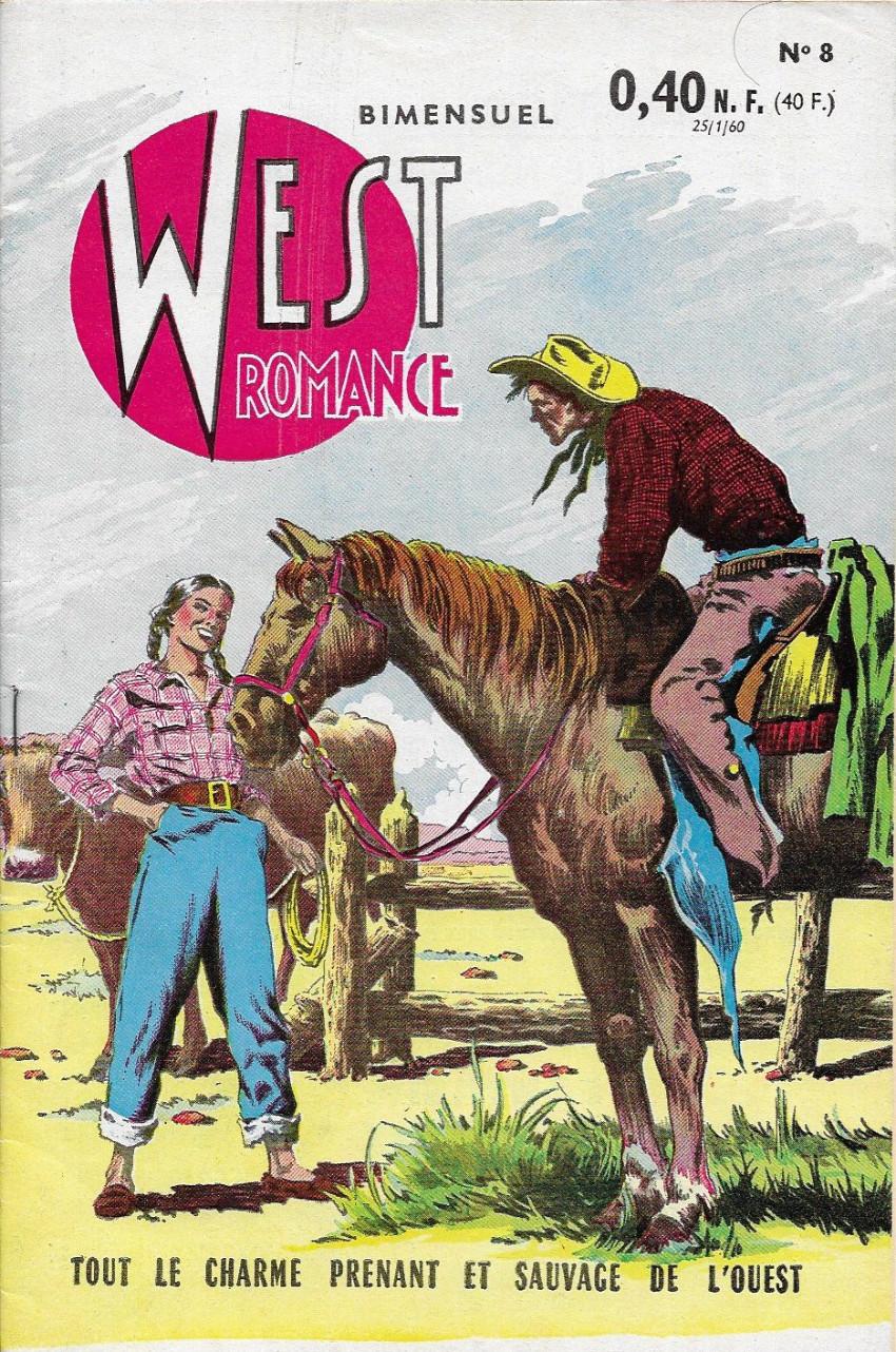 Couverture de West Romance (S.E.R) -8- Sur la piste de Jubal