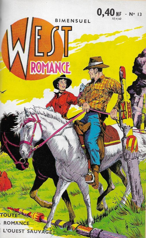 Couverture de West Romance (S.E.R) -13- Laredo Crockett & Thunder Jack