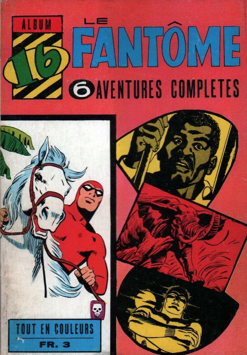 Couverture de Le fantôme (1re Série - Aventures Américaines) -Rec16- Album N°16 (du n°253 au n°258)