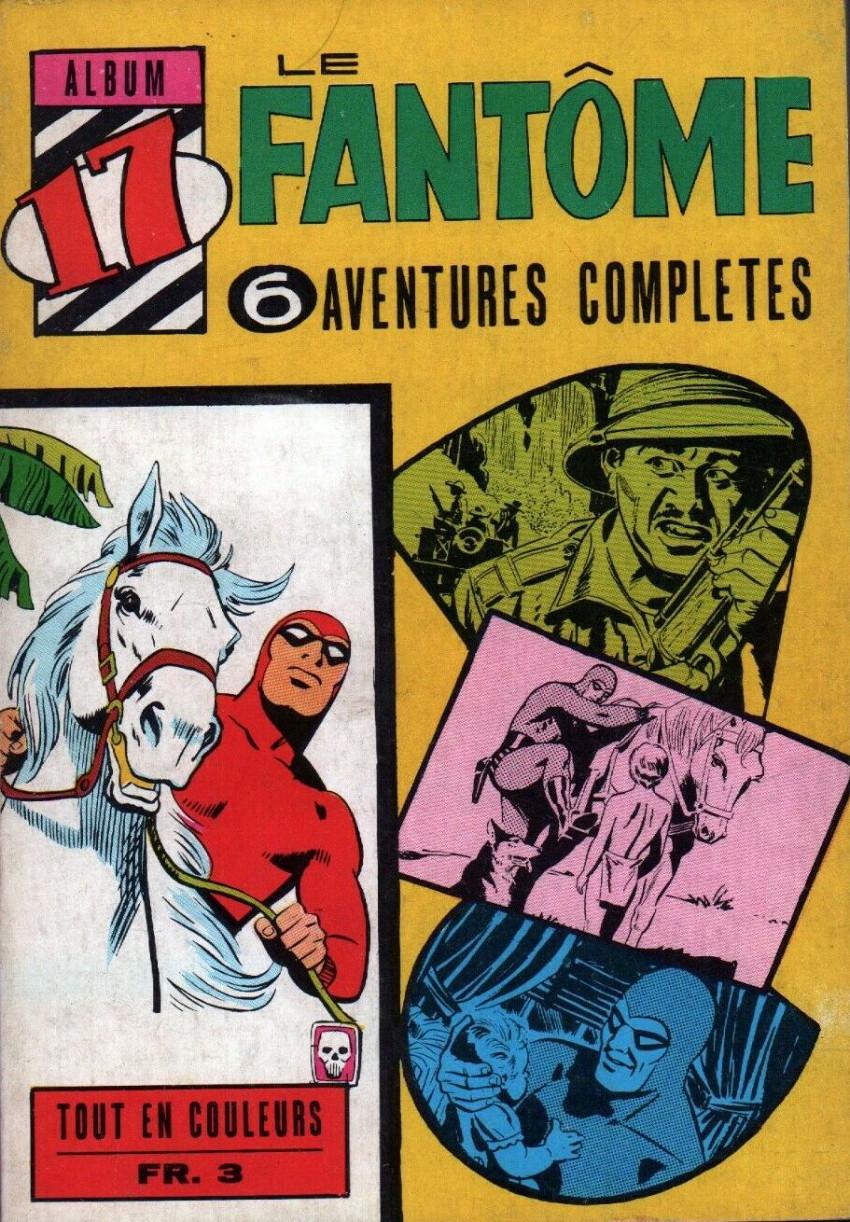 Couverture de Le fantôme (1re Série - Aventures Américaines) -Rec17- Album N°17 (du n°259 au n°264)