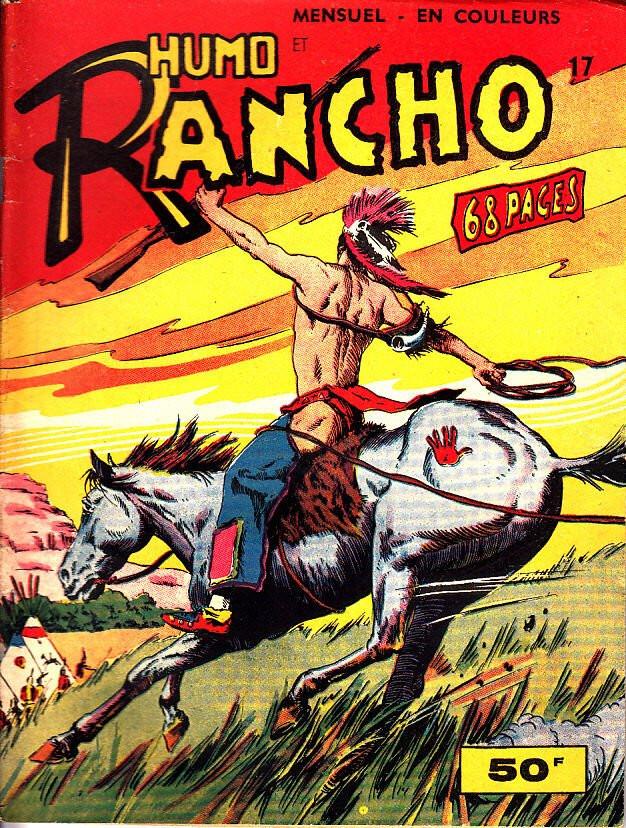 Couverture de Rancho (S.E.R) -17- Humo et Rancho - Le Massacre des Pieds-Noirs