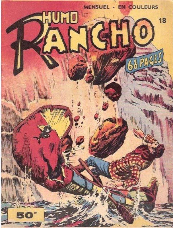 Couverture de Rancho (S.E.R) -18- Humo et Rancho - Ramon L'Aquila