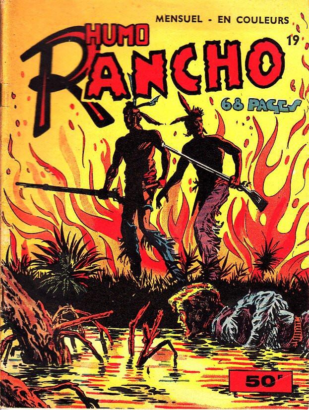 Couverture de Rancho (S.E.R) -19- Humo Rancho - Ramon L'Aquila (Suite)