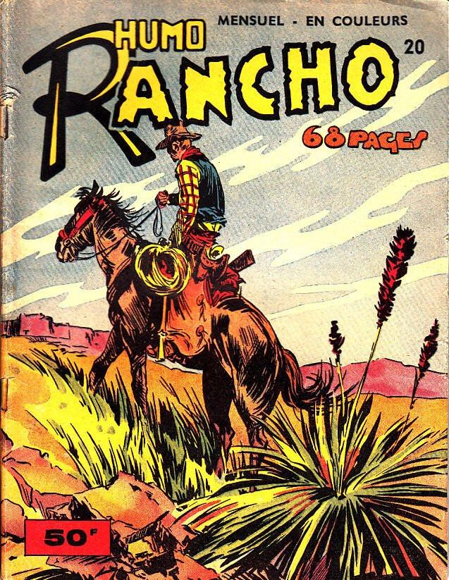 Couverture de Rancho (S.E.R) -20- Humo Rancho - Les intrigues du Maharadjah