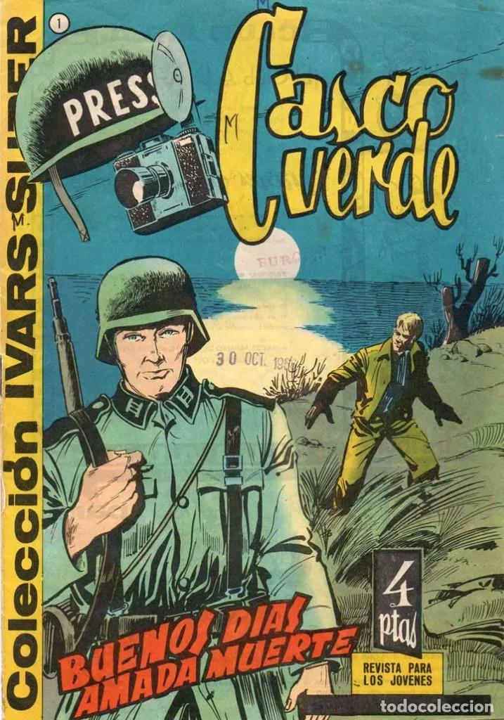 Couverture de Casco verde -1- Buenos días amada muerte