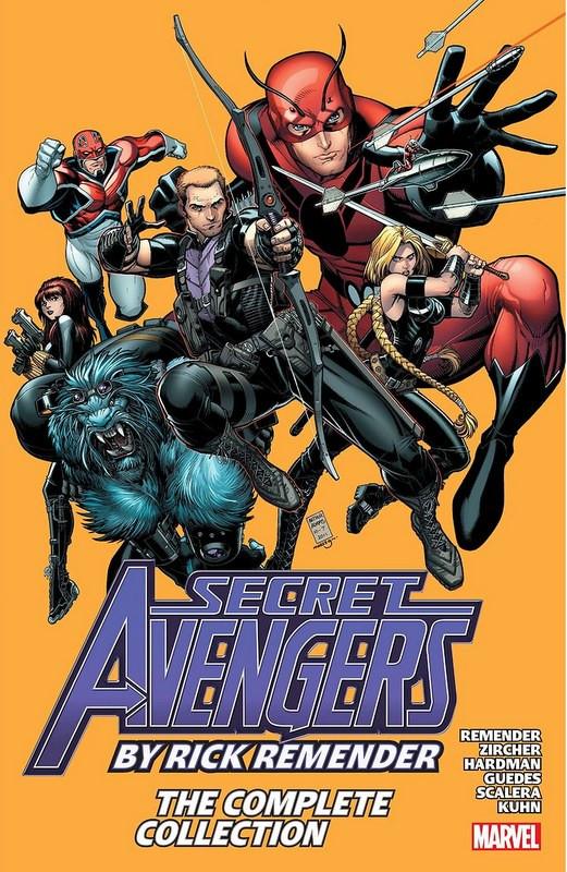 Couverture de Secret Avengers (2010) -OMNI- Secret Avengers by Rick Remender