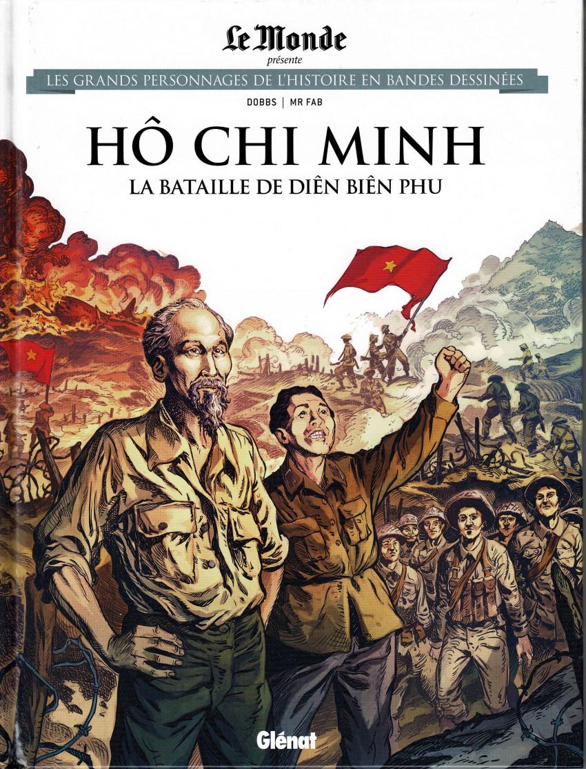 Couverture de Les grands Personnages de l'Histoire en bandes dessinées -62- Hô Chi Minh, La bataille de Diên Biên Phu