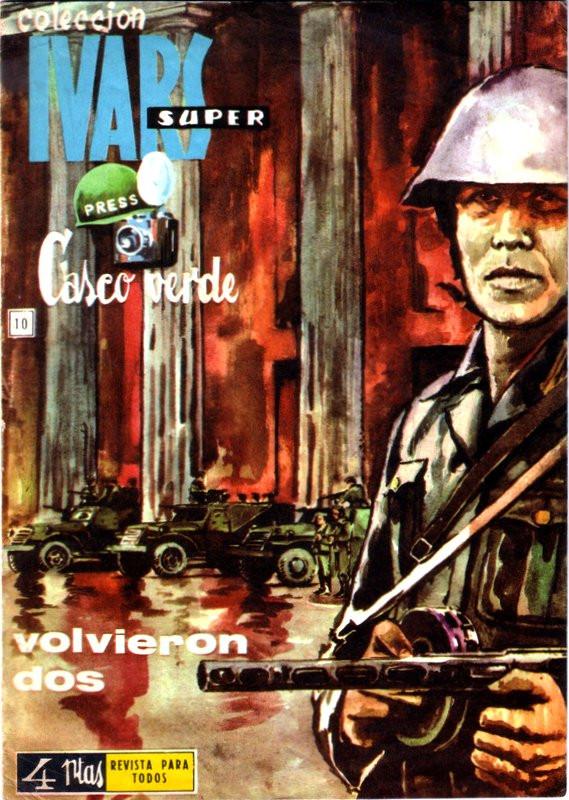 Couverture de Casco verde -10- Volvieron dos
