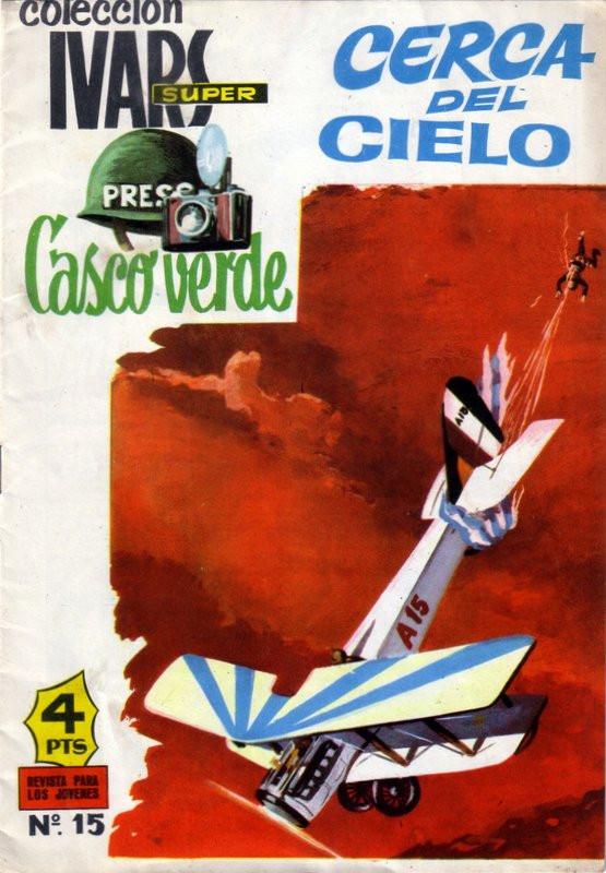 Couverture de Casco verde -15- Cerca del cielo