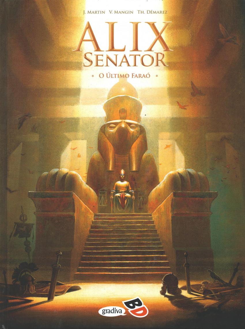 Couverture de Alix Senator (en portugais) -2- O último faraó