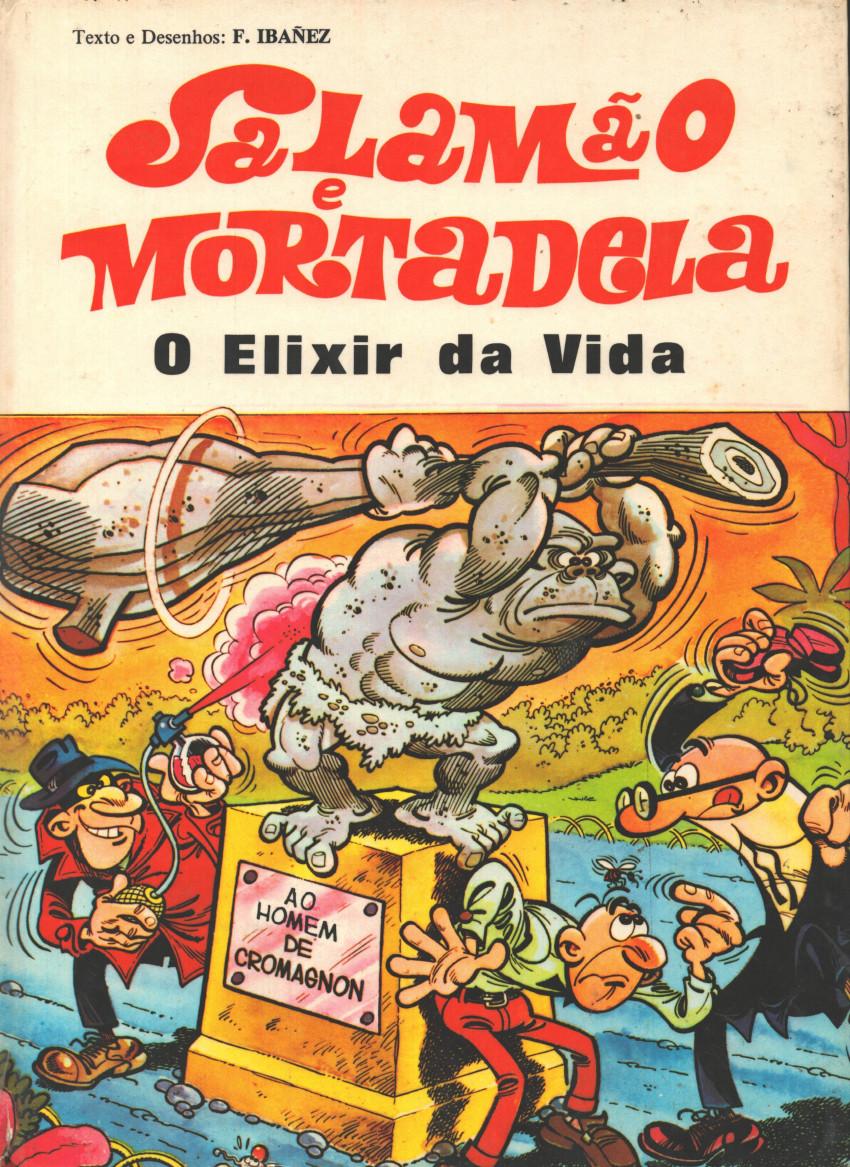 Couverture de Salamäo e Mortadela -10- O elixir da vida