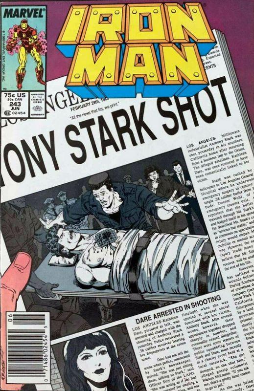Couverture de Iron Man Vol.1 (Marvel comics - 1968) -243- heartbeaten