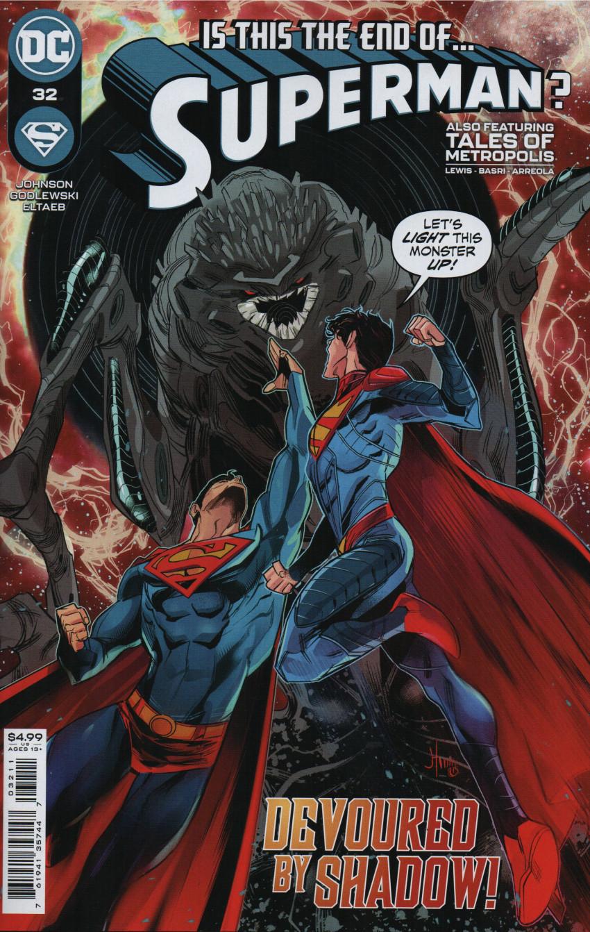 Couverture de Superman Vol.5 (DC Comics - 2018) -32- The One who Fell - Part Three