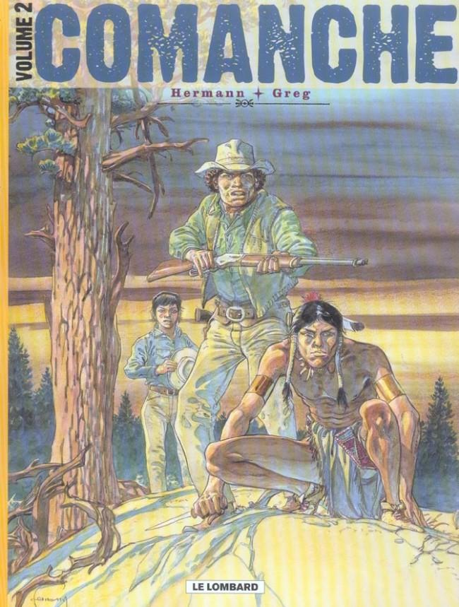Couverture de Comanche -INT2- Volume 2