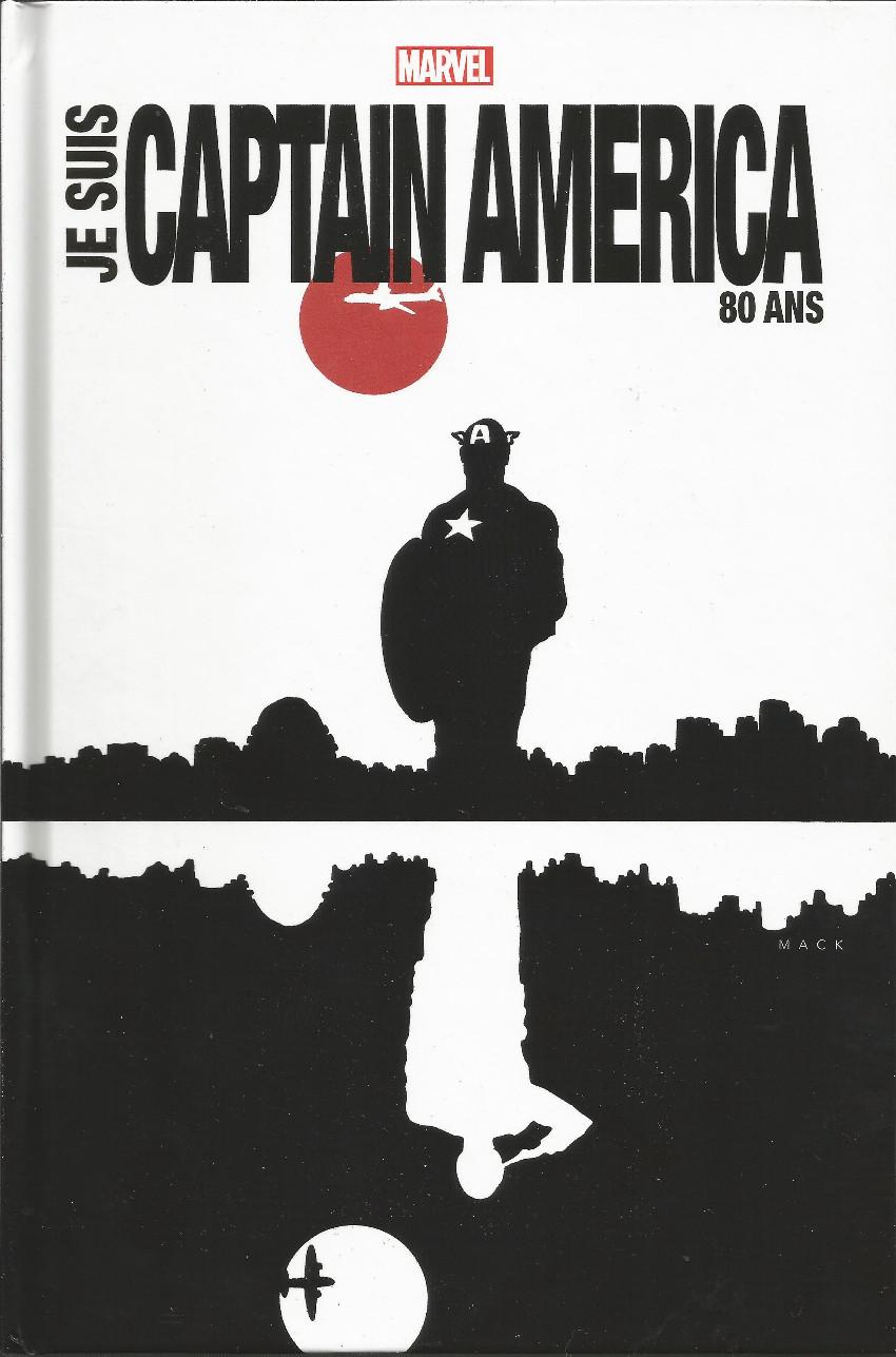 Couverture de Captain America : Je suis Captain America - Captain America : Je suis Captain America 80 ans