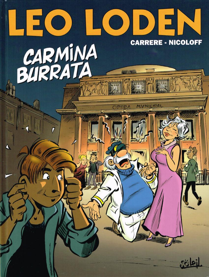 Chronique : Léo Loden -28- Carmina Burrata (Soleil Productions)