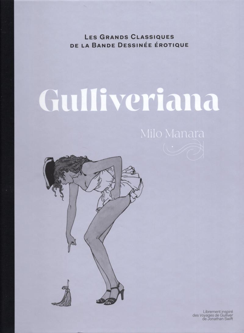 Couverture de Les grands Classiques de la Bande Dessinée érotique - La Collection -133136- Gulliveriana