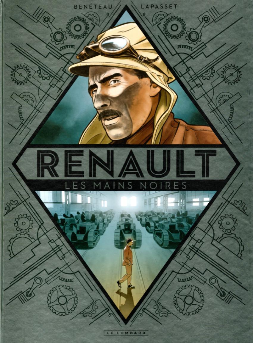 Chronique : Renault - Les mains noires (Le Lombard)