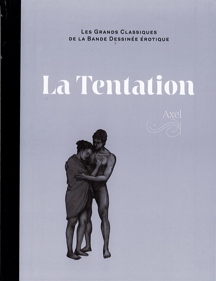 Couverture de Les grands Classiques de la Bande Dessinée érotique - La Collection -129113- La Tentation