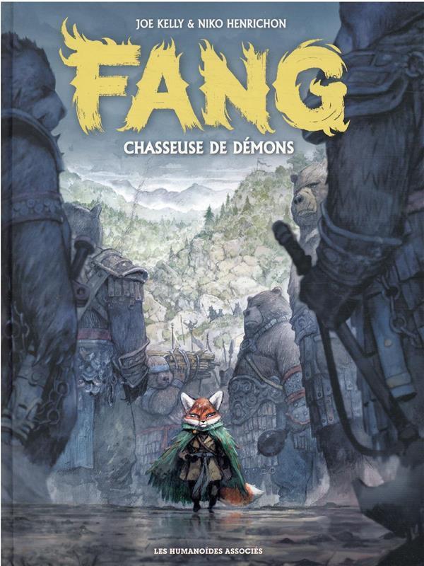 Couverture de Fang -1- Chasseuse de démon