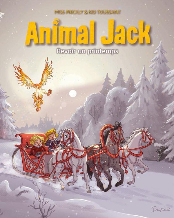 Chronique : Animal Jack -5- Revoir un printemps (Dupuis)