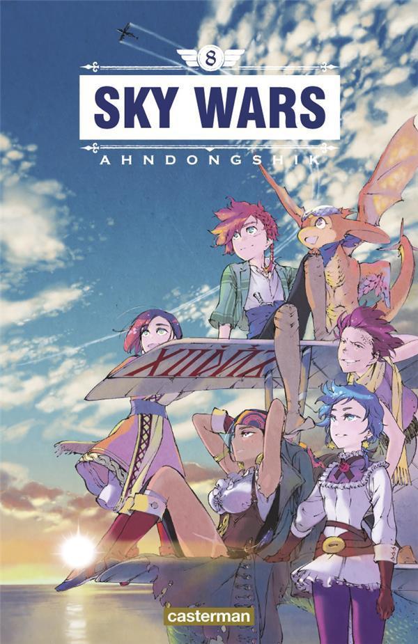 Couverture de Sky Wars -8- Tome 8