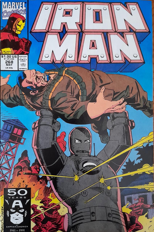 Couverture de Iron Man Vol.1 (Marvel comics - 1968) -268- first blood
