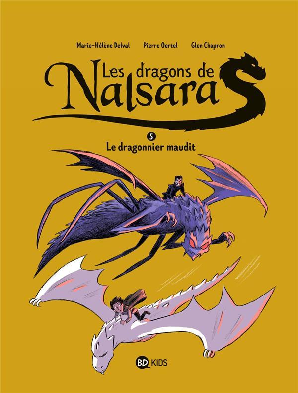 Couverture de Les dragons de Nalsara -5- Le dragonnier maudit