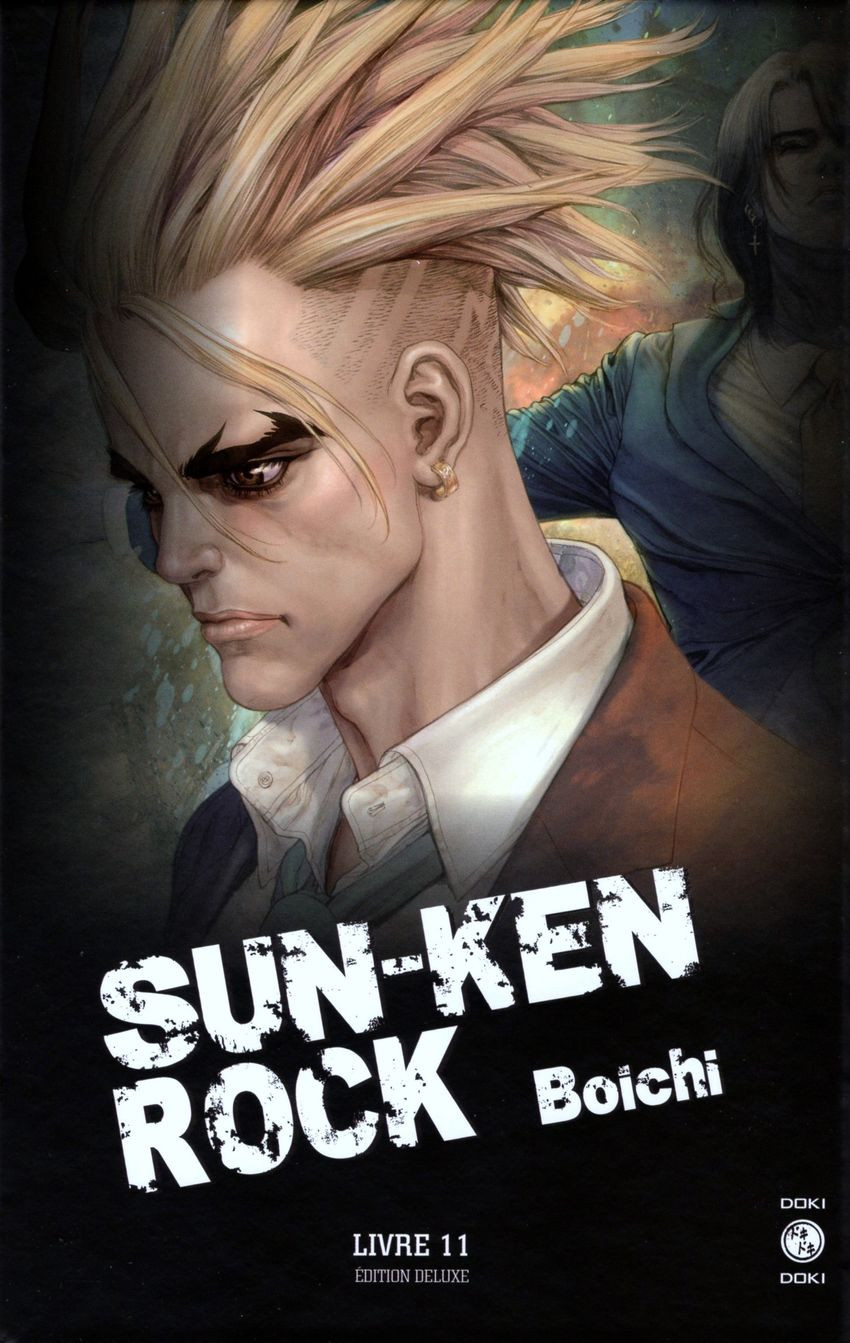 Couverture de Sun-Ken Rock - Édition Deluxe -11- Livre 11