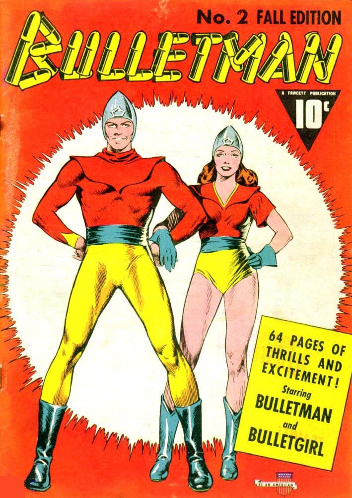 Couverture de Bulletman (Fawcett - 1941) -2- Issue # 2