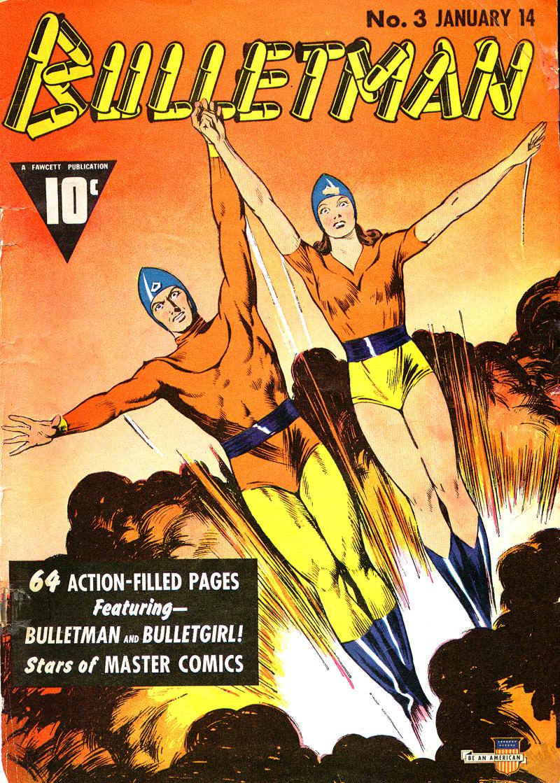 Couverture de Bulletman (Fawcett - 1941) -3- Issue # 3