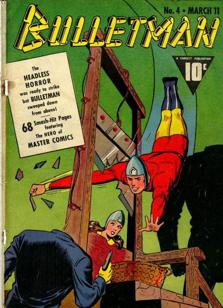 Couverture de Bulletman (Fawcett - 1941) -4- The Headless Horror