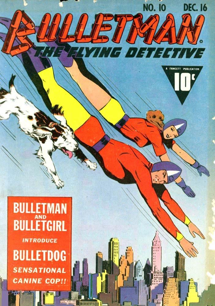 Couverture de Bulletman (Fawcett - 1941) -10- Issue # 10