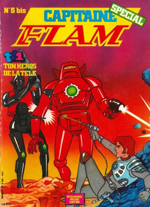 Couverture de Capitaine Flam (Spécial) -5Bis- N°5Bis