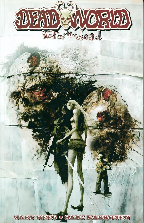 Couverture de Deadworld: War of the Dead - Tome tpb