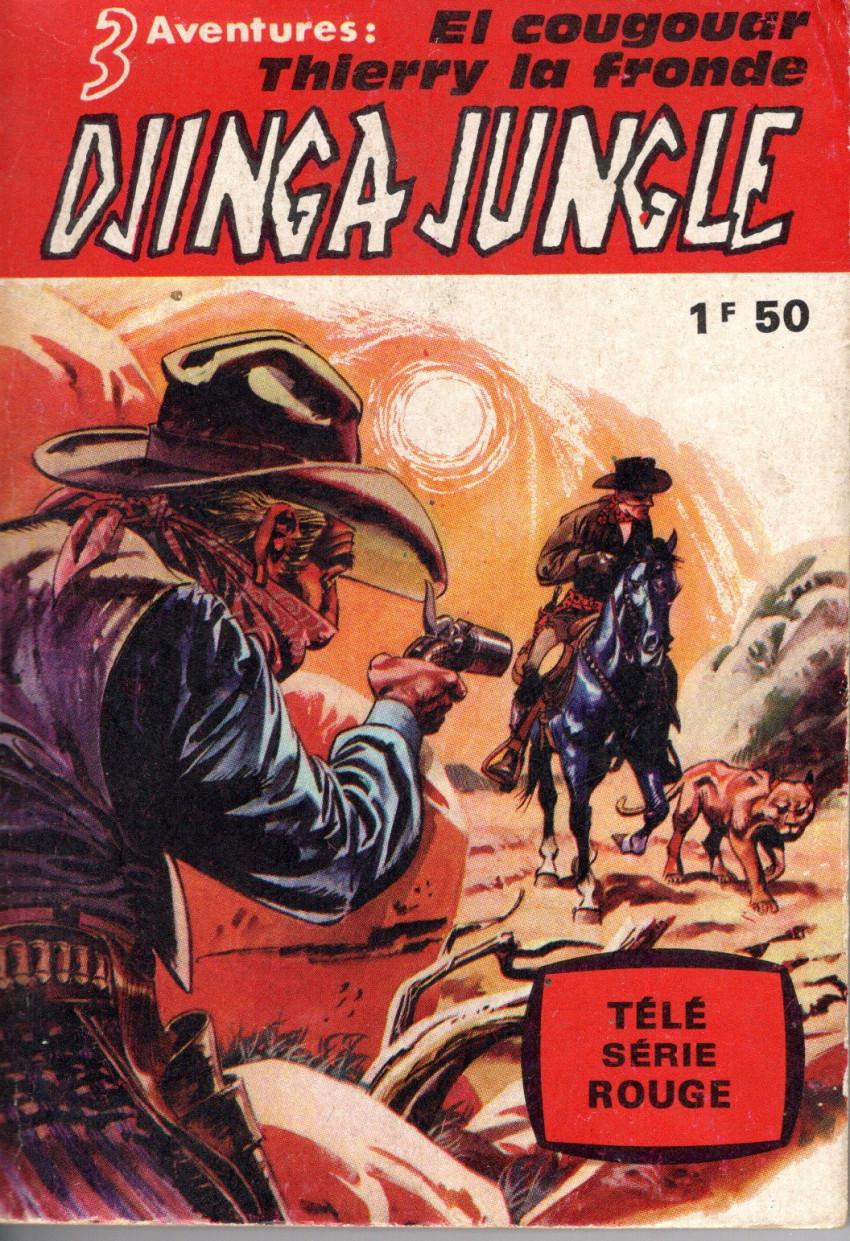 Couverture de Télé série rouge -1- Djinga Jungle