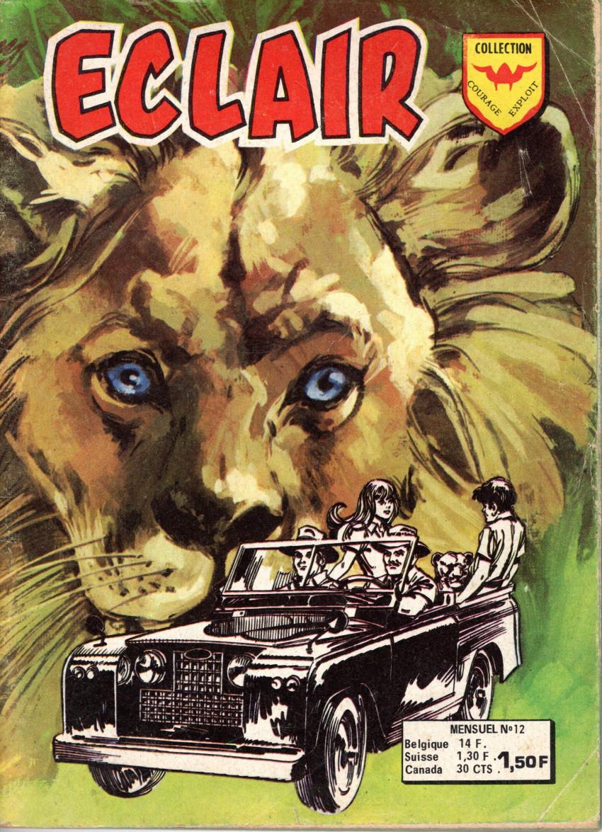 Couverture de Éclair (3e série) (Arédit) -12- Le grand Simba