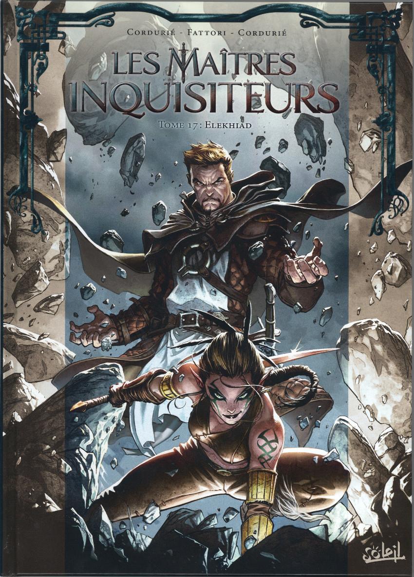 Couverture de Les maîtres Inquisiteurs -17- Elekhiad