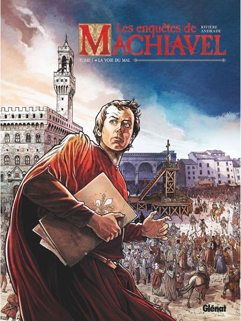 Couverture de Les enquêtes de Machiavel -1- La voie du mal