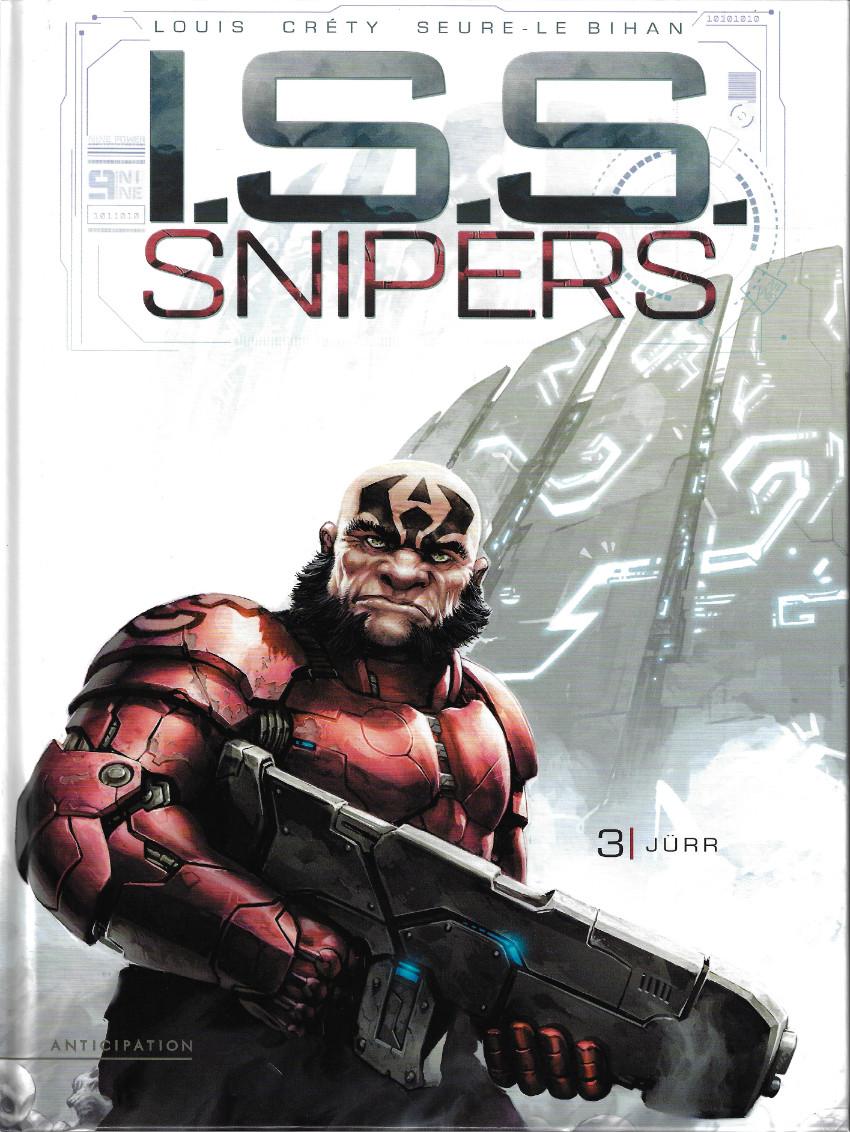 Couverture de I.S.S. Snipers -3- Jurr
