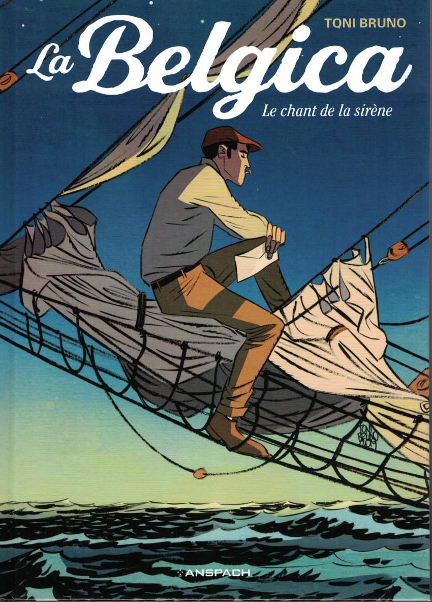 Couverture de La belgica -1- Le chant de la sirène