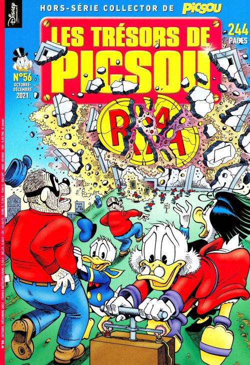 Couverture de Picsou Magazine Hors-Série -56- Les trésors de Picsou : L'intégrale de Don Rosa 2000-2001