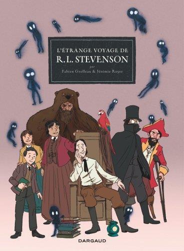Couverture de L'étrange voyage de R. L. Stevenson