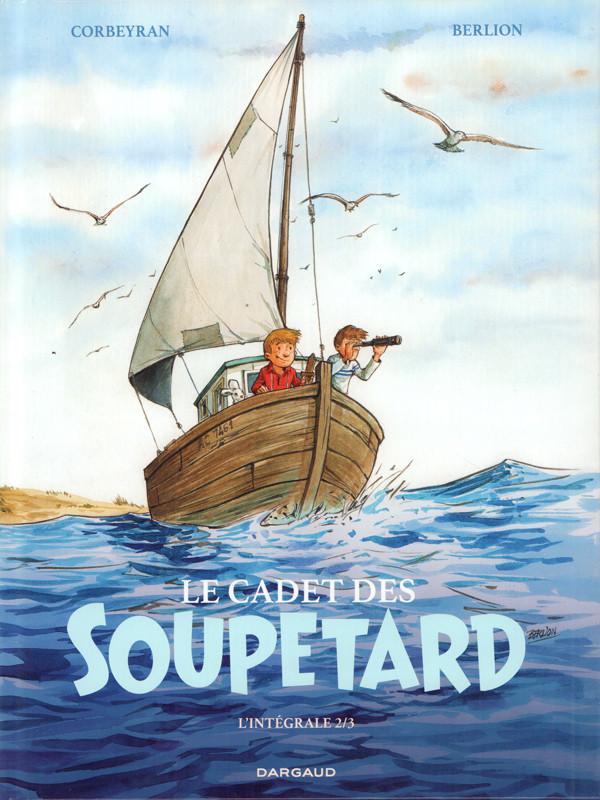 Couverture de Le cadet des Soupetard -INT02- L'intégrale 2/3