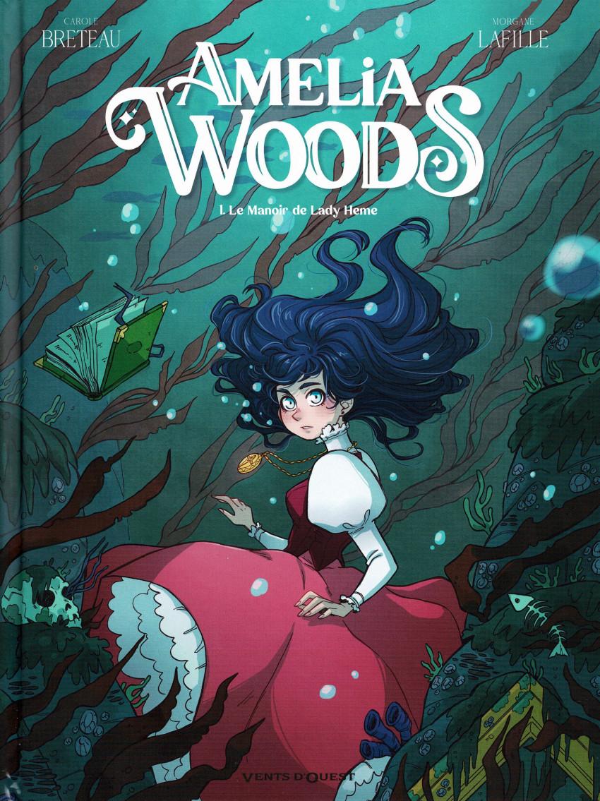 Couverture de Amelia Woods -1- Le Manoir de Lady Heme